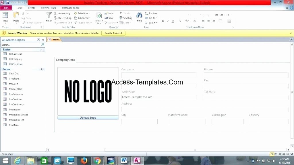Microsoft Access 2007 Template Best Of Access 2007 Database Templates Family Tree Template