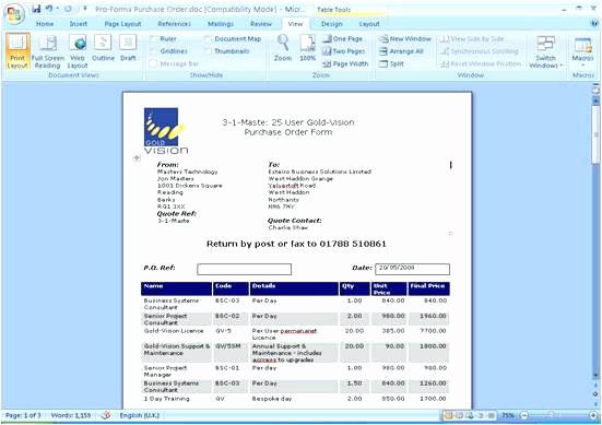 Microsoft Access 2007 Template Elegant Access Quote Template Microsoft 2007 Service Word