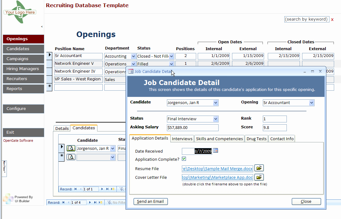 Microsoft Access Crm Template Free Unique Microsoft Access Templates