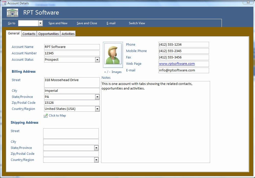 Microsoft Access Customer Database Template Luxury Microsoft Access Templates