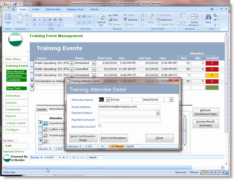 Microsoft Access Customer Database Template New Microsoft Access Templates Powerful Ms Access Templates