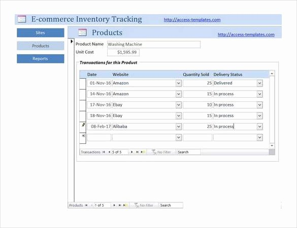 Microsoft Access Inventory Template Best Of 18 Free Access Database Template