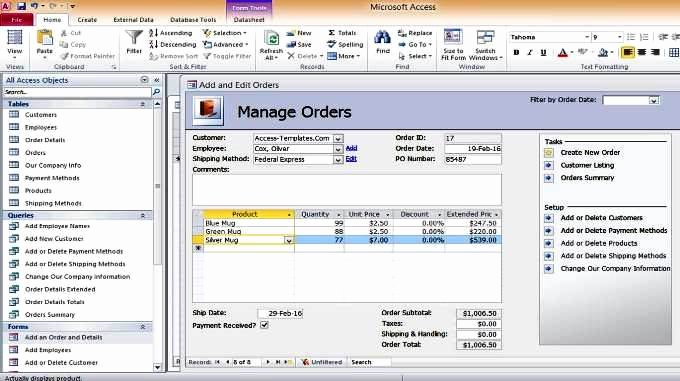 Microsoft Access Inventory Template Fresh Download Inventory Microsoft Access Templates Database and