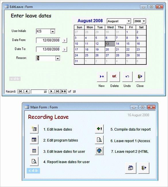 Microsoft Access Report Template Inspirational 51 Microsoft Access Templates – Free Samples Examples