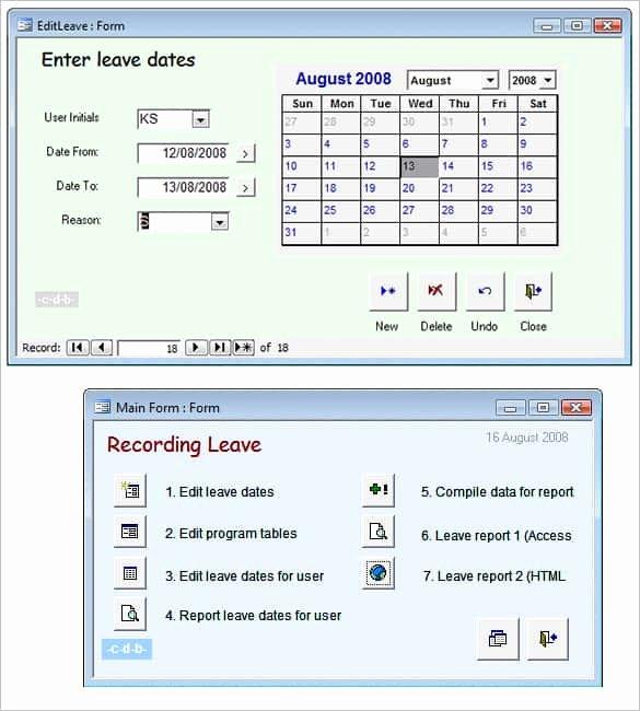 Microsoft Access Report Template Unique 29 Microsoft Access Templates