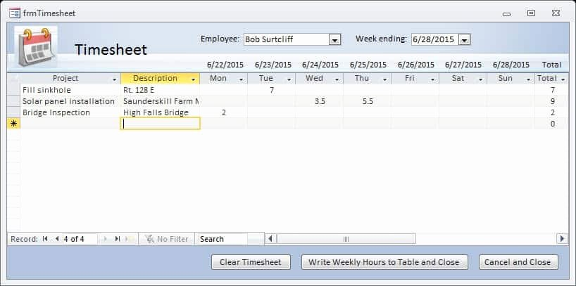Microsoft Access Timesheet Template New How to Make Timesheet In Ms Excel Time Sheet Template