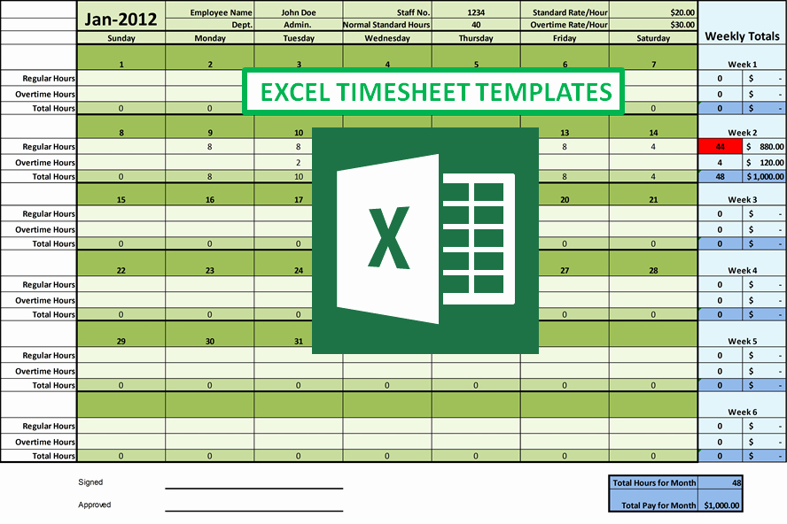 Microsoft Access Timesheet Template Unique How Excel Timesheet Simplifies Employee Hour Tracking Tasks