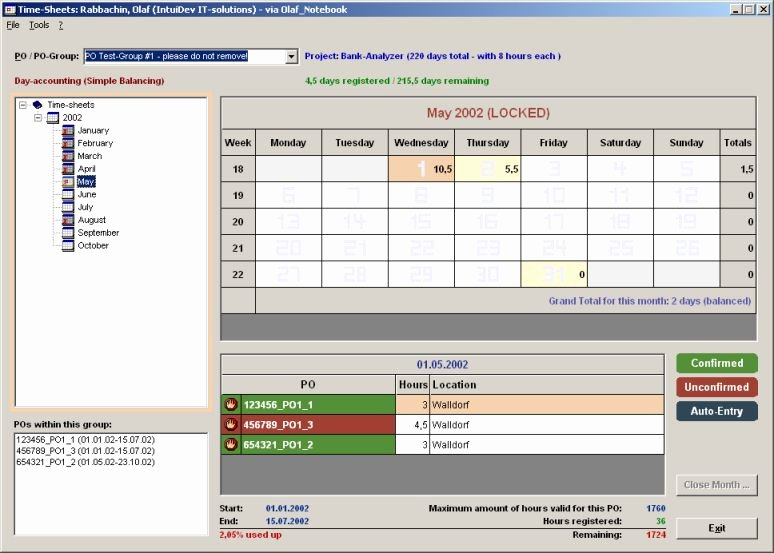 Microsoft Access Timesheet Template Unique Intuidev It solutions Samples