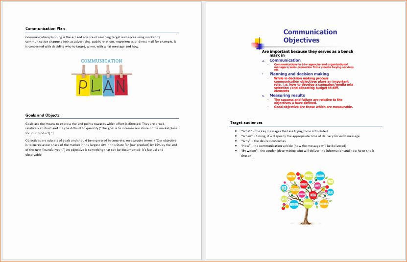 Microsoft Business Plan Template Best Of Munication Business Plan