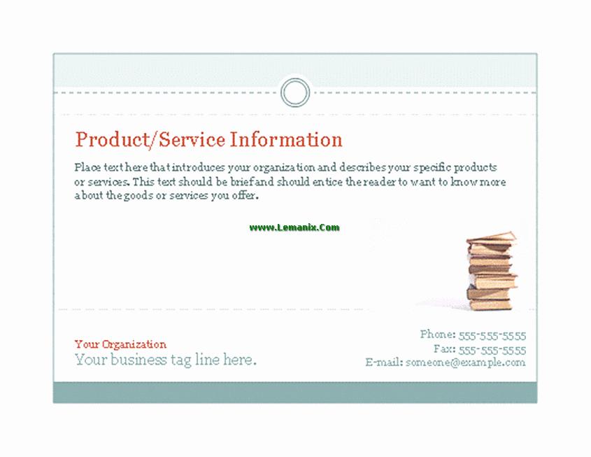 Microsoft Office Postcard Template Fresh Business Postcard Microsoft Publisher Templates for
