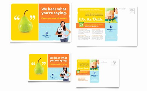 Microsoft Office Postcard Template Fresh Medical & Health Care Postcard Templates Word & Publisher