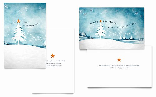 Microsoft Office Postcard Template Fresh Microsoft Fice Templates Christmas Cards