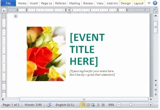Microsoft Office Postcard Template Lovely Fice 365 Line Templates