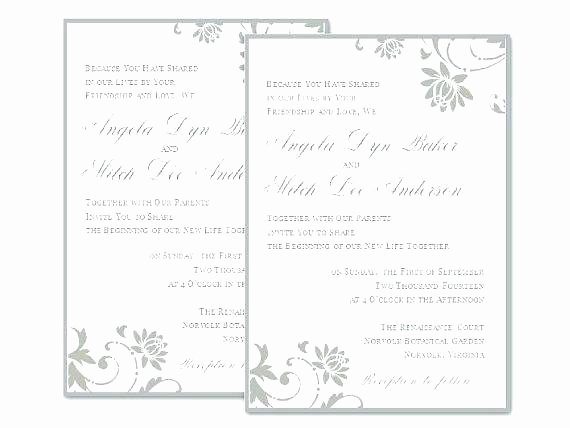 Microsoft Office Wedding Invitation Template Fresh Template Microsoft Fice Publisher Invitation Templates