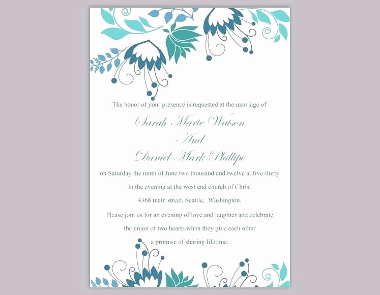Microsoft Office Wedding Invitation Template New Word Wedding Invitation Template – Danielmelofo