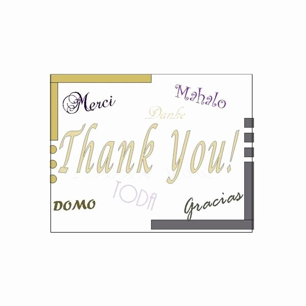 Microsoft Publisher Postcard Template Elegant Thank You Postcards Free Templates for Microsoft Publisher