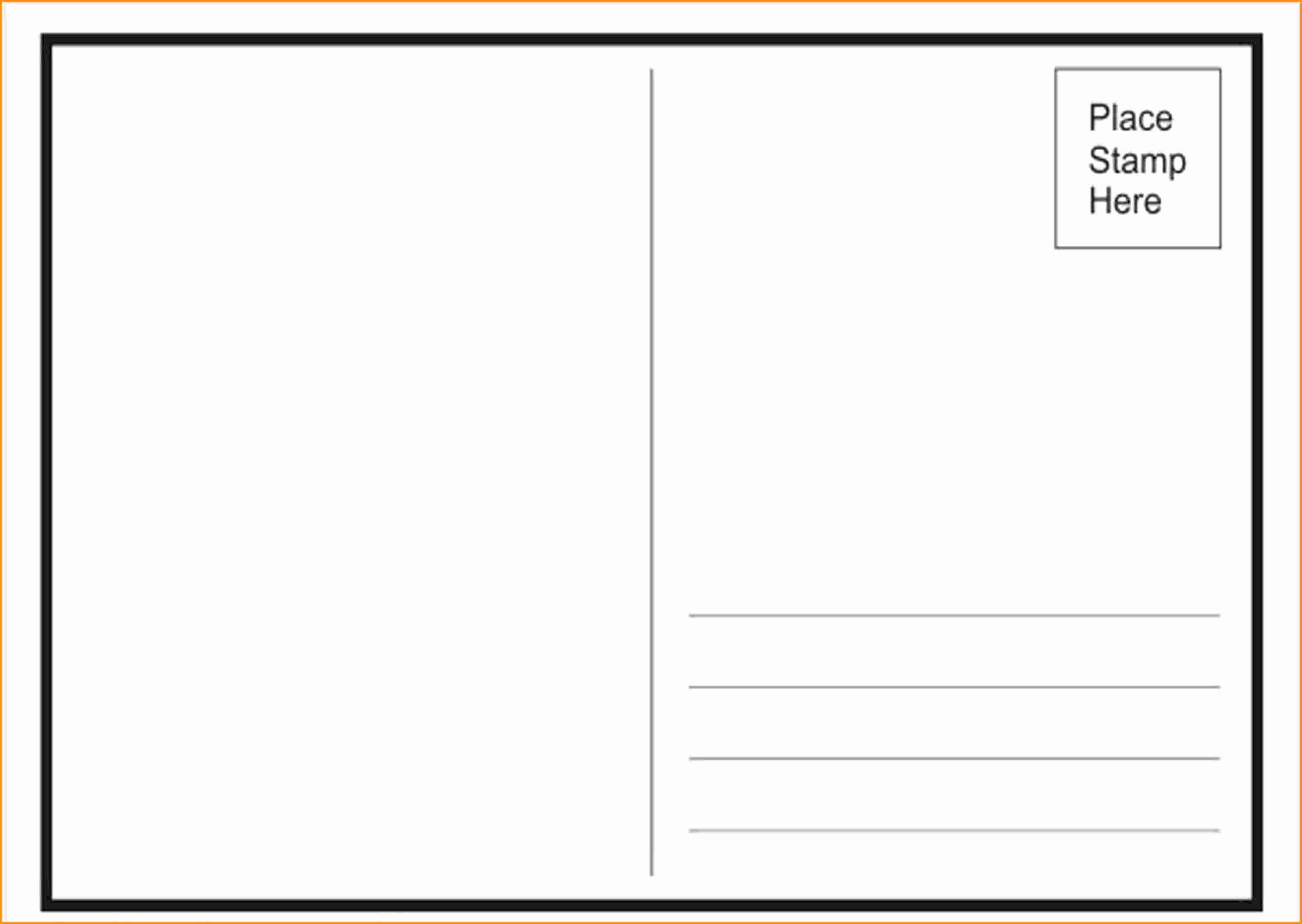 Microsoft Publisher Postcard Template Fresh Free Postcard Templates for Word Portablegasgrillweber