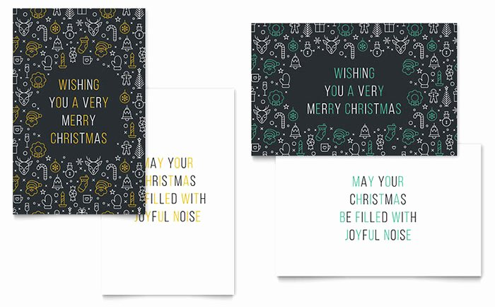 Microsoft Word Birthday Card Template Elegant Christmas Wishes Greeting Card Template Word & Publisher