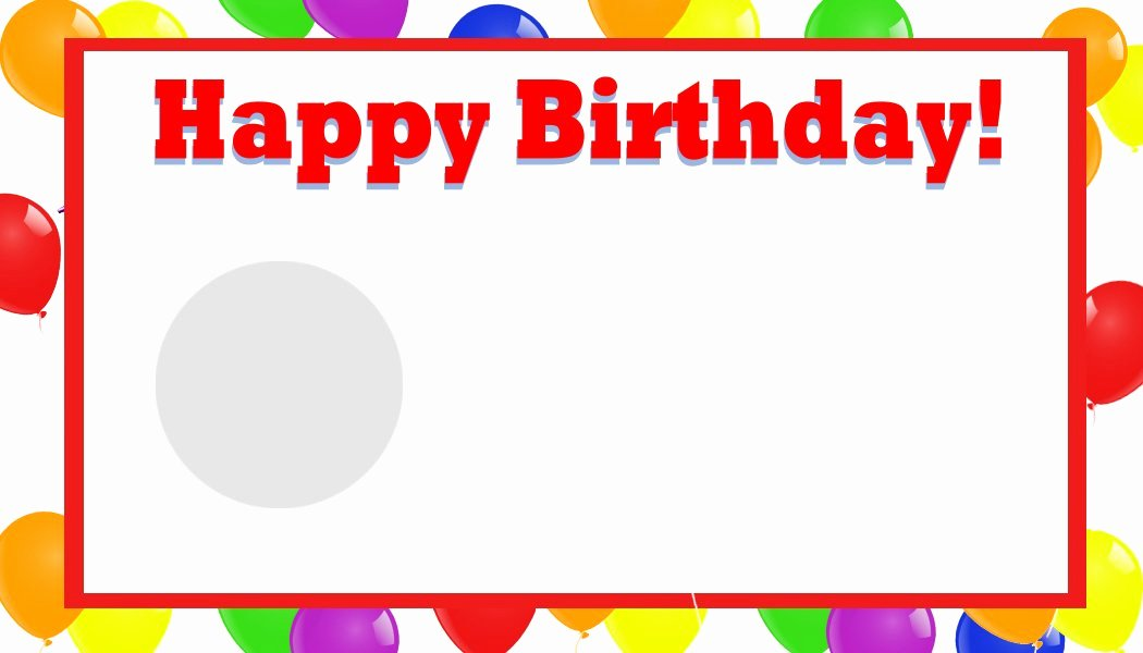 Microsoft Word Birthday Card Template Fresh Happy Birthday Template Word