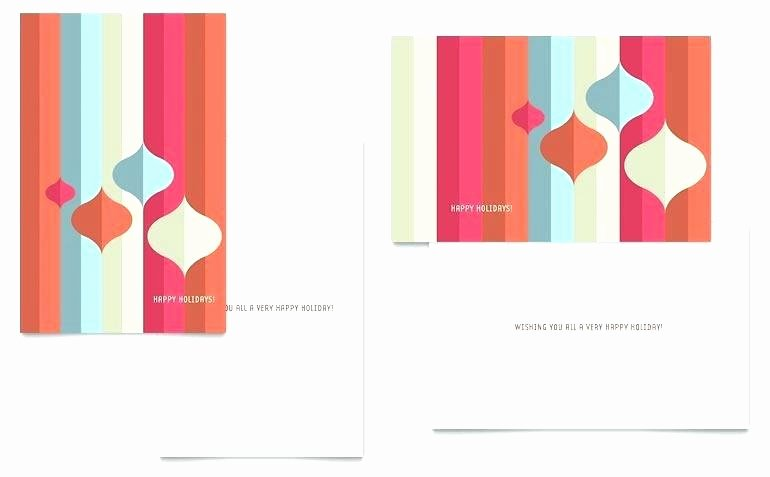 Microsoft Word Birthday Card Template Inspirational Blank Greeting Card Template Microsoft Word Templates for