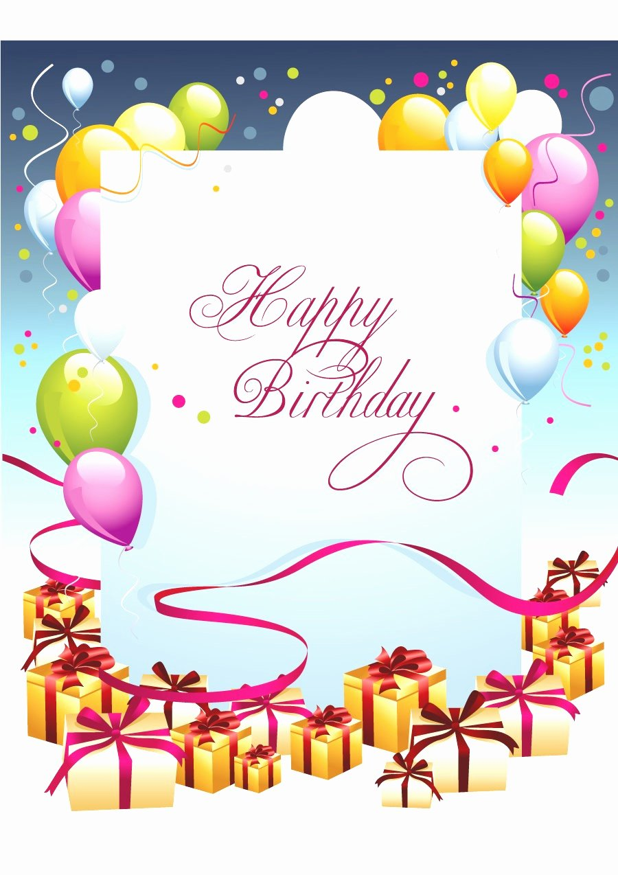 Microsoft Word Birthday Card Template Luxury Birthday Card Layout Mughals