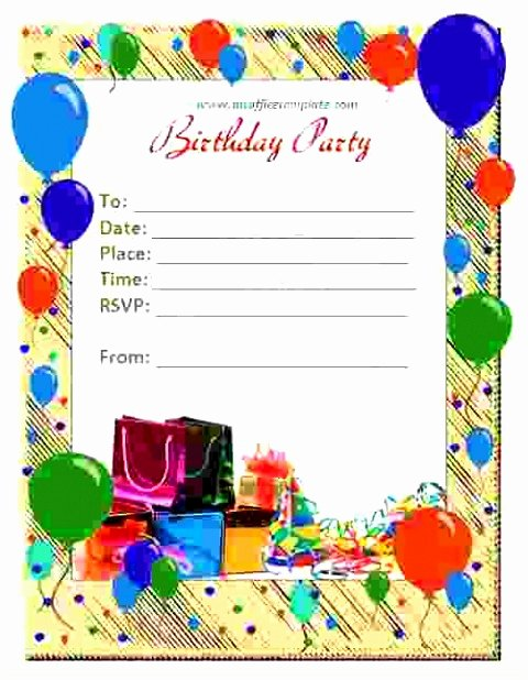 Microsoft Word Birthday Card Template New 5 Open Fice Birthday Card Template Epute