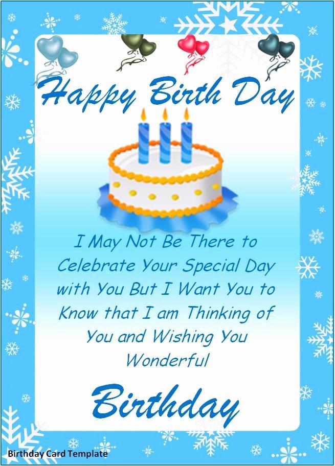 Microsoft Word Birthday Card Template New Birthday Card Templates Best Word Templates