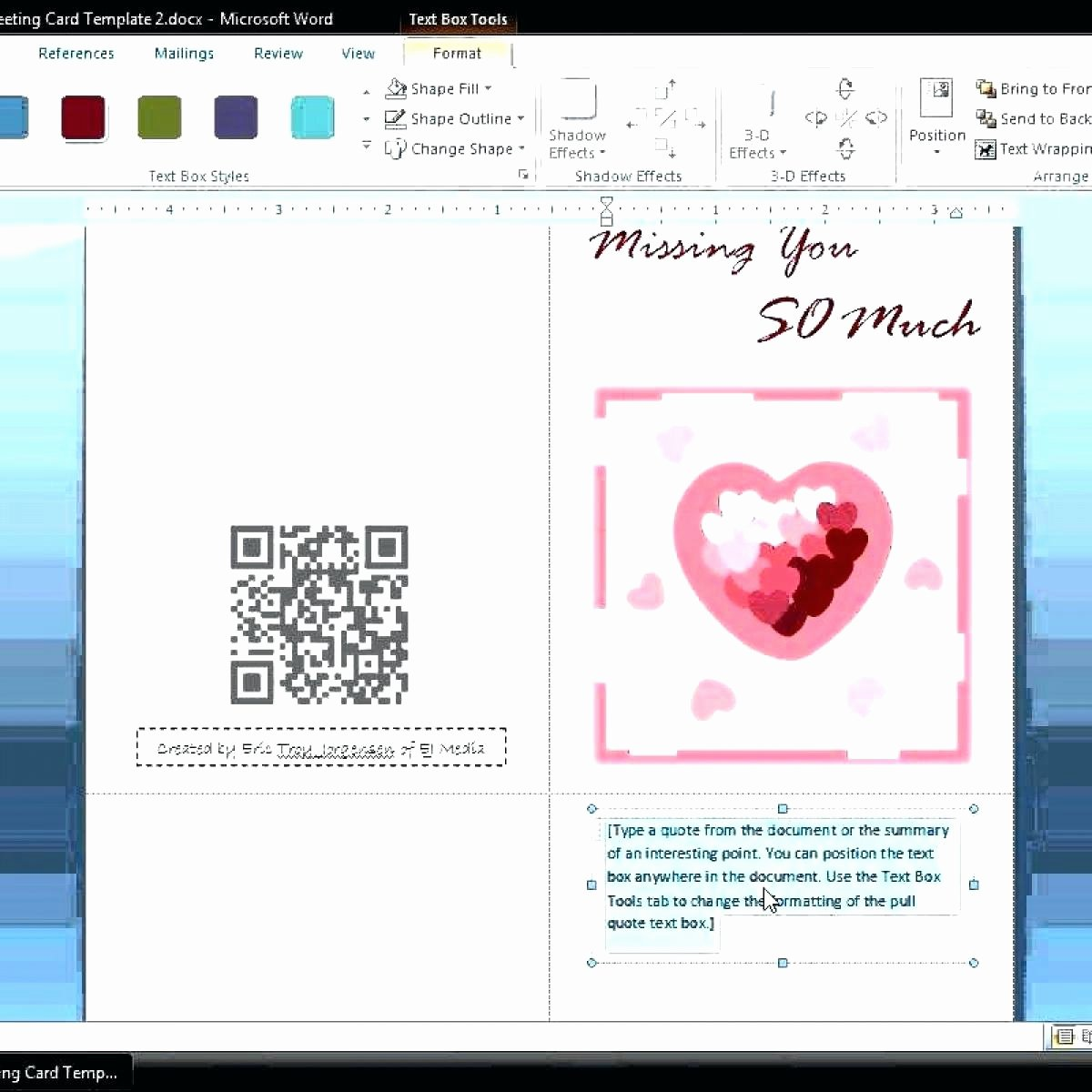 Microsoft Word Birthday Card Template Unique Template Birthday Card Template Microsoft Word