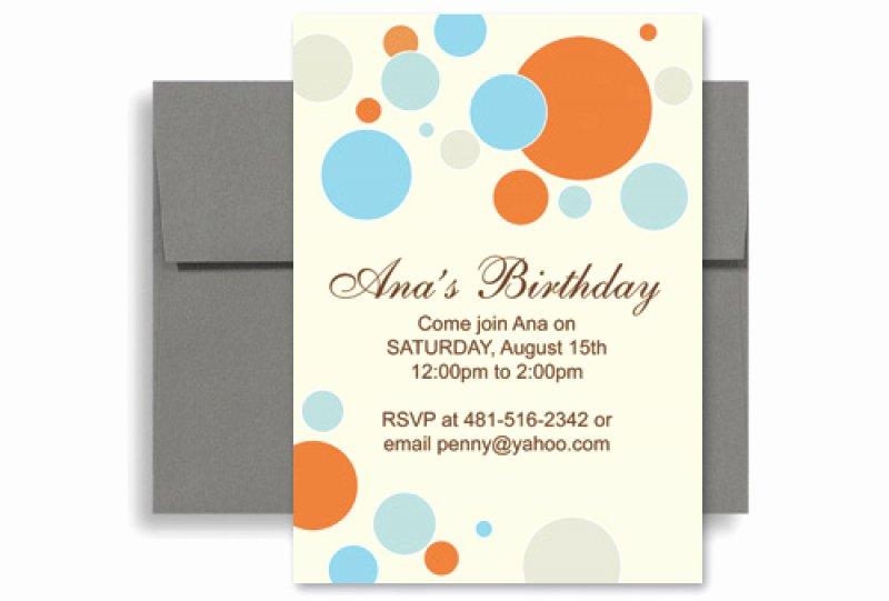 Microsoft Word Birthday Invitation Template Beautiful Birthday Invitation Template Word Free – orderecigsjuicefo