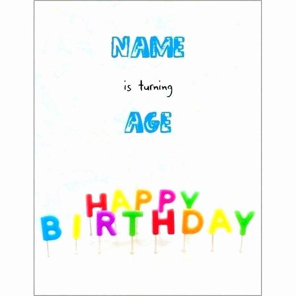 Microsoft Word Birthday Invitation Template Beautiful Word Birthday Card Template Invitation Fice Templates