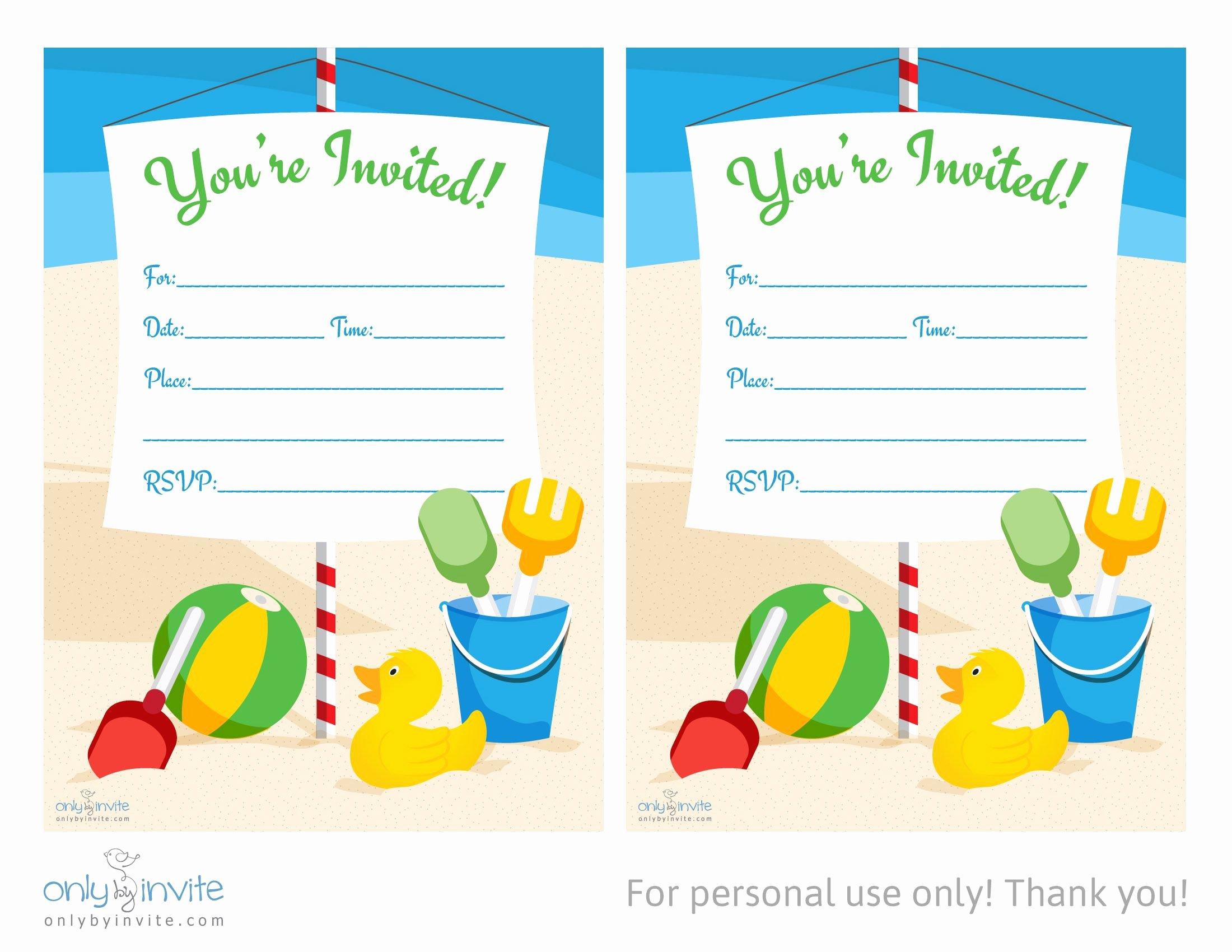 Microsoft Word Birthday Invitation Template Elegant Card Template Blank Invitation Templates Free for Word