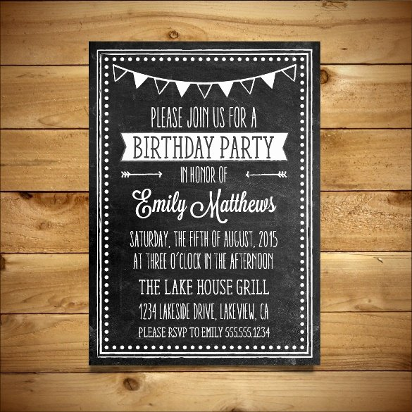 Microsoft Word Birthday Invitation Template Inspirational 18 Ms Word format Birthday Templates Free Download