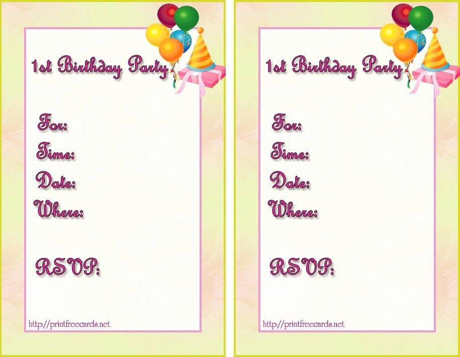 Microsoft Word Birthday Invitation Template Luxury Birthday Invitation Templates Birthday Invitation