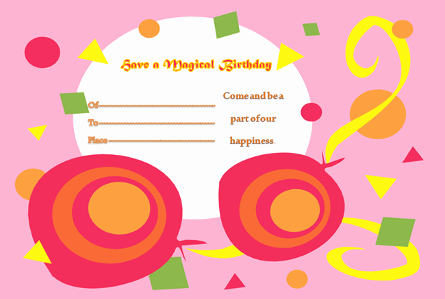 Microsoft Word Birthday Invitation Template New Birthday Party Invitation Template Microsoft Word Templates
