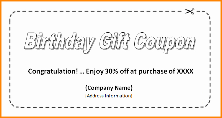 Microsoft Word Coupon Template Fresh Coupon Template Word