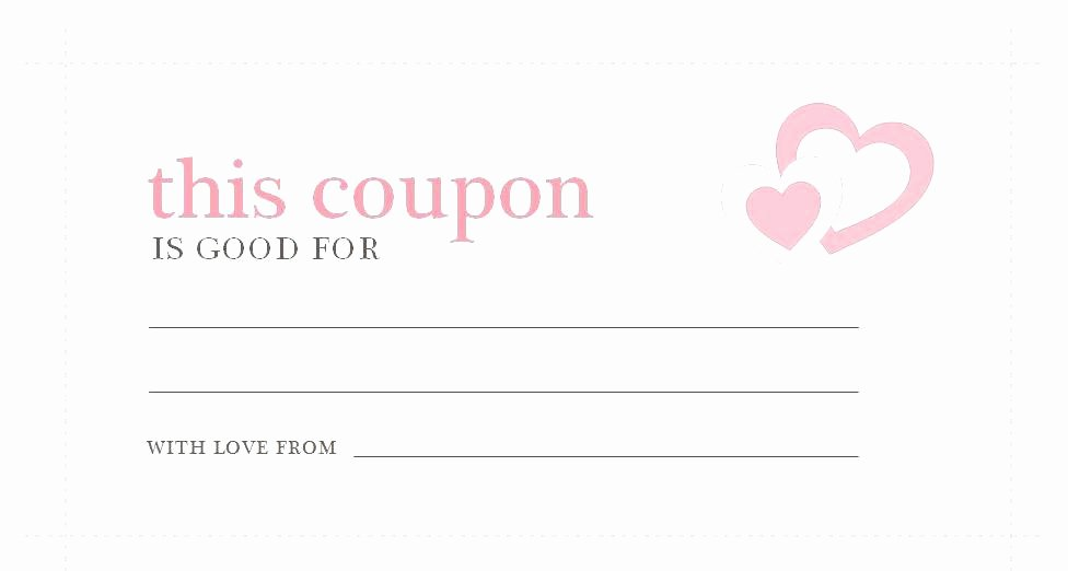 Microsoft Word Coupon Template Lovely Coupon Template