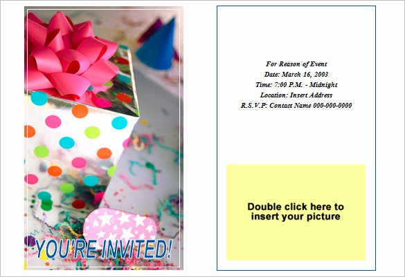 Microsoft Word Invitation Template Luxury 50 Microsoft Invitation Templates Free Samples