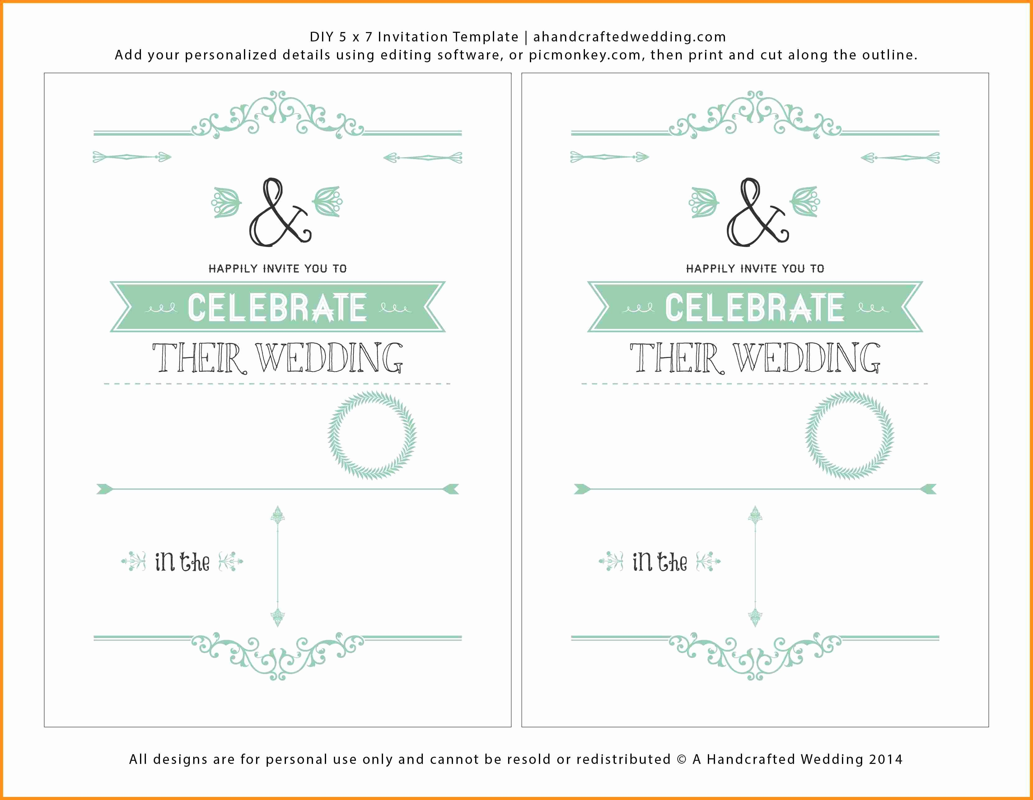 Microsoft Word Invitation Template New Word Invitation Templates Free thebridgesummit Ideas