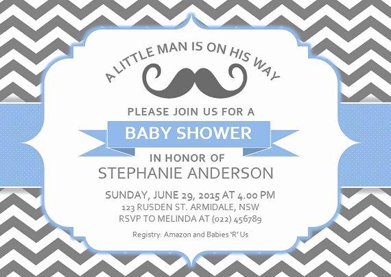 Microsoft Word Invitation Template Unique Baby Shower Invitation Templates Free Baby Shower