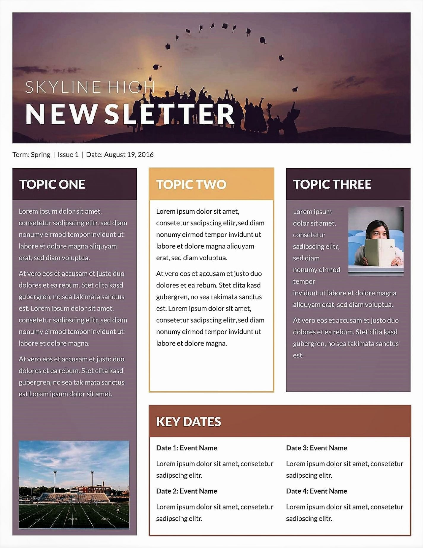 Microsoft Word Newsletter Template Free New Microsoft Newsletter Templates Publisher Free