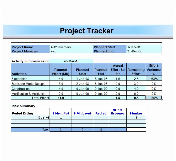 Microsoft Word Project Template New 13 Sample Project Management Templates