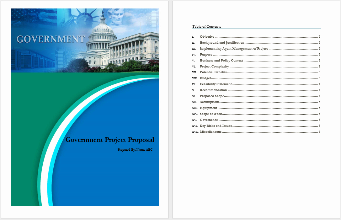 Microsoft Word Project Template Unique Government Project Proposal Template Word Templates