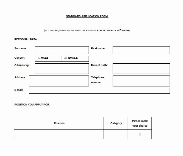 Microsoft Word Questionnaire Template Fresh 16 Microsoft Word 2010 Application Templates Free