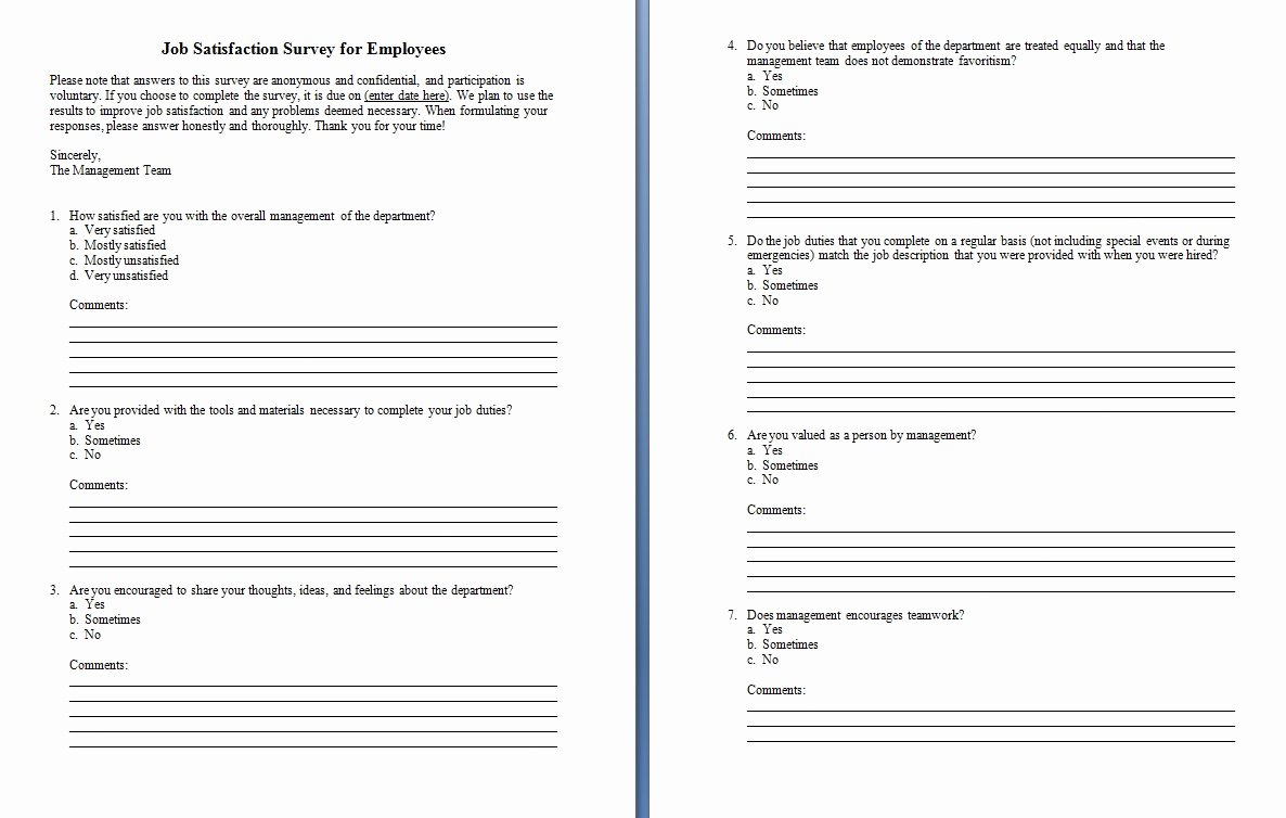 Microsoft Word Questionnaire Template Lovely Survey Template Word Excel Xlts