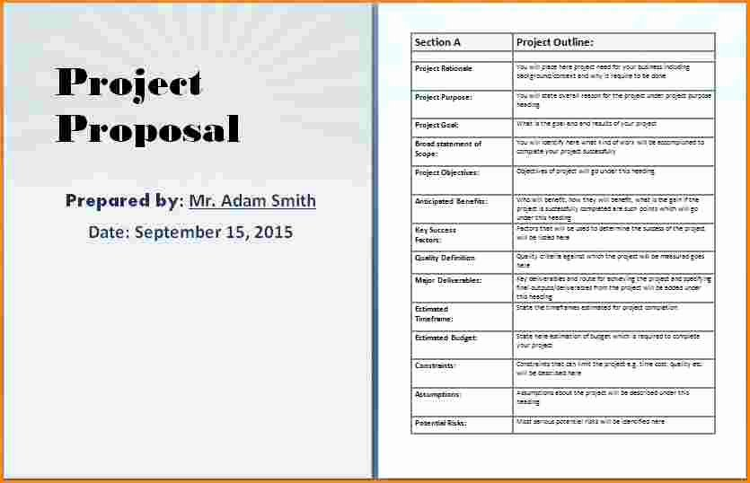 Microsoft Word Sales Proposal Template Awesome Business Proposal Template Word