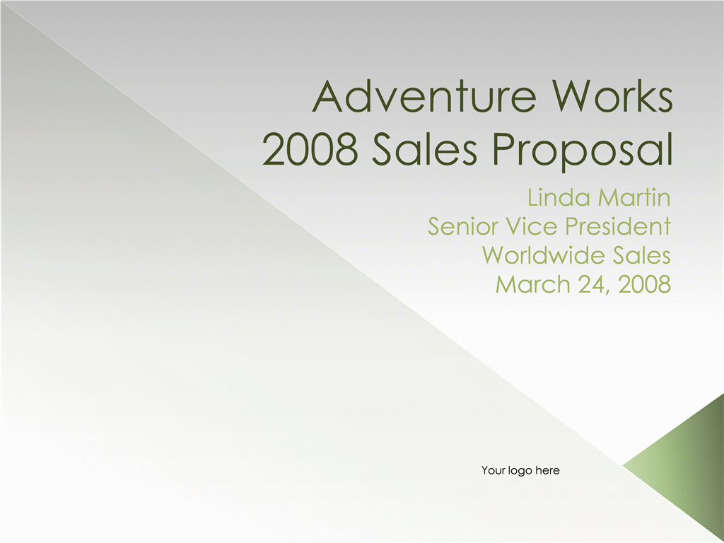 Microsoft Word Sales Proposal Template Elegant Download Ms Fice Sales Proposal Presentation Conference