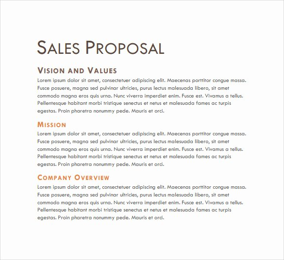 Microsoft Word Sales Proposal Template Luxury Sales Proposal Template 13 Download Free Documents In