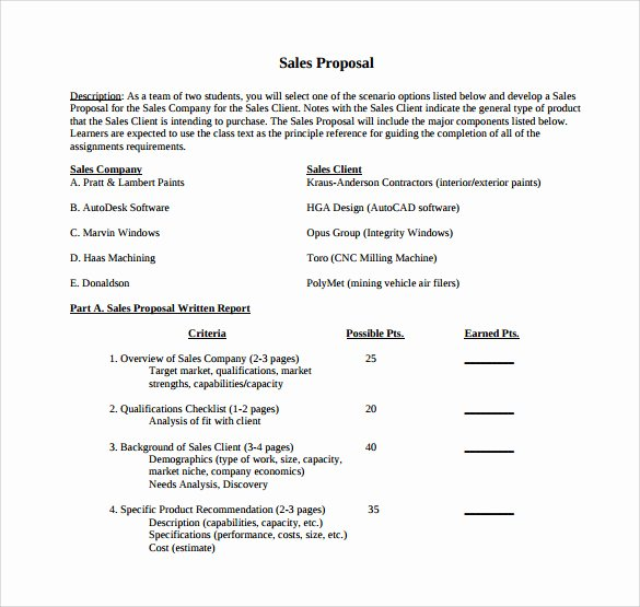 Microsoft Word Sales Proposal Template Unique 20 Sample Sales Proposal Templates – Pdf Word Psd