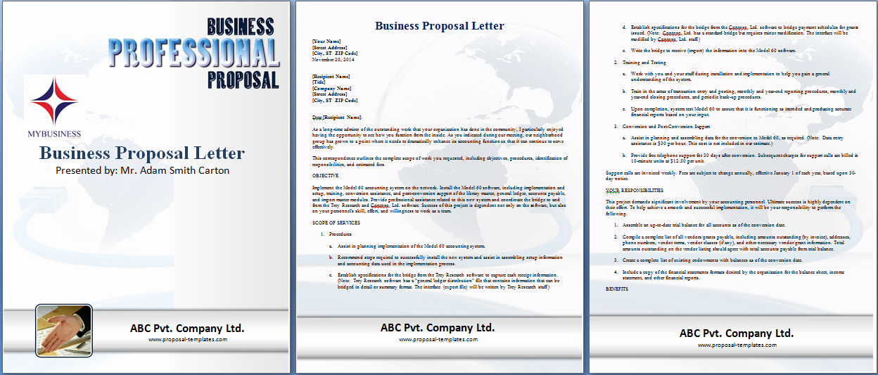 Microsoft Word Sales Proposal Template Unique Microsoft Word Business Proposal Template Print Design by