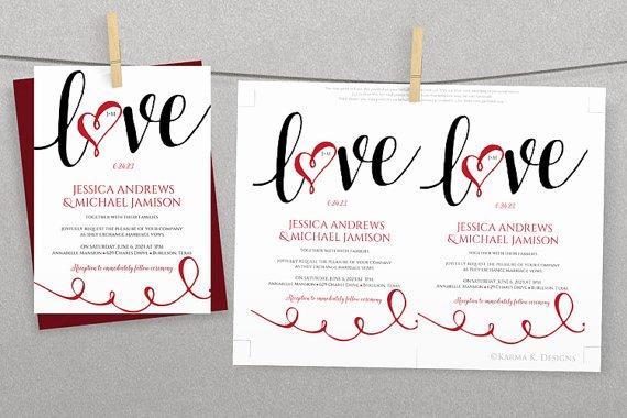 Microsoft Word Wedding Invitation Template Best Of Diy Wedding Invitation Template Download Instantly
